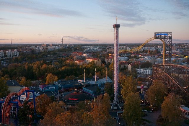 El Parque de atracciones de Helsinki