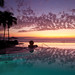 'West is the Best', Mexico, Puerto Vallarta, Grand Velas Riviera Nayarit Hotel & Resort Pool, Sunset