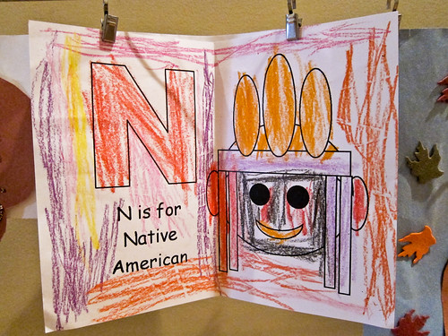 N is for Native American