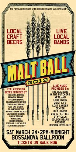 Malt Ball @ Bossanova Ballroom