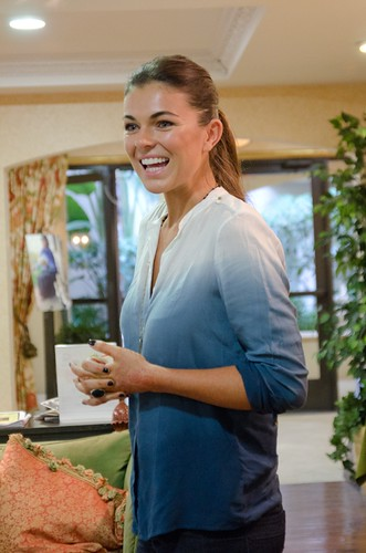 Serinda Swan at LA Spring Into Action Event