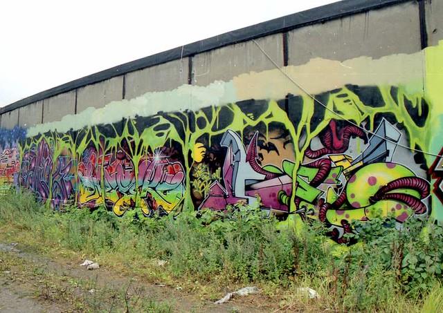 Nørrebro graffiti, August 1999