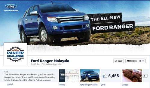 Ford Ranger Malaysia Facebook