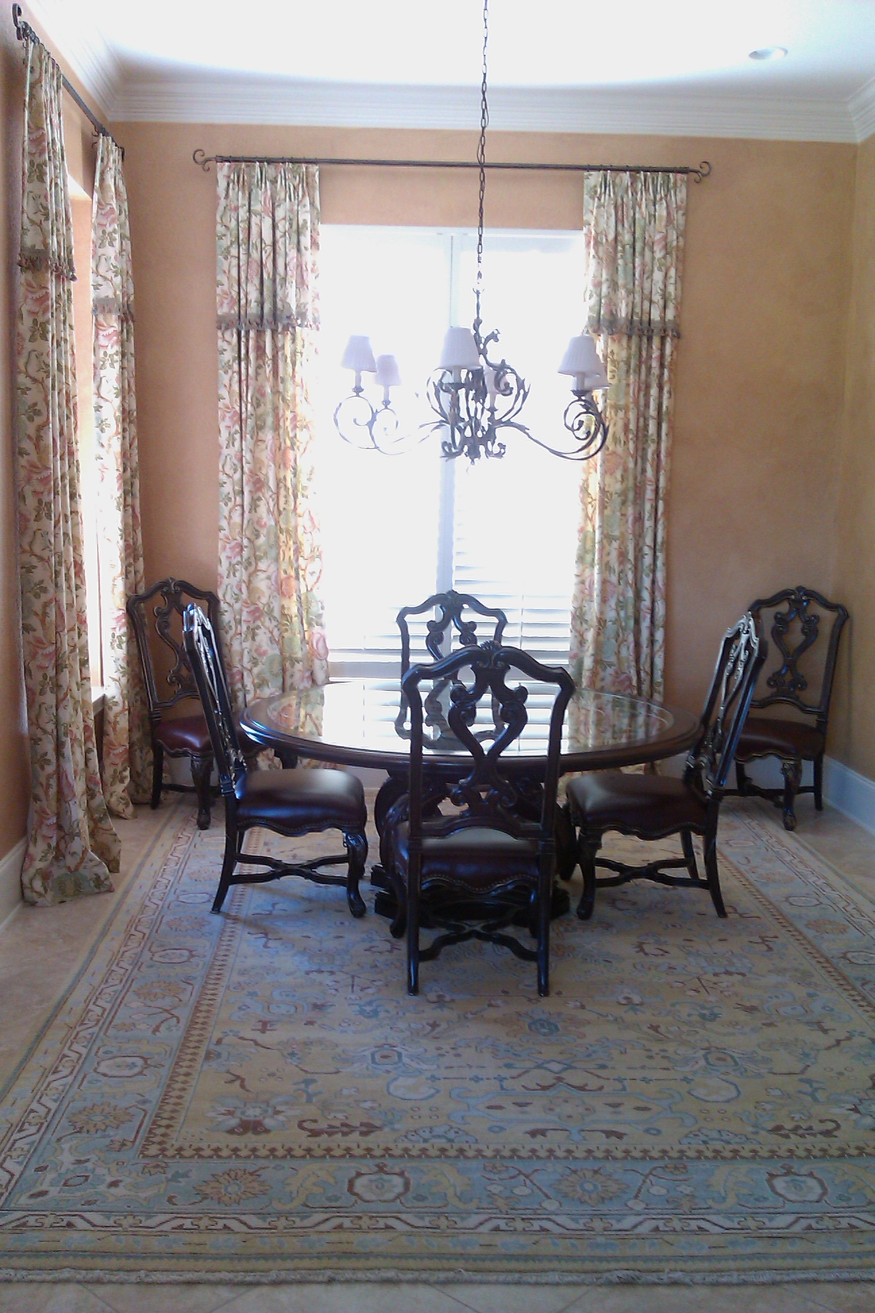 Dining Room Italian Style with Glazed Walls | Flickr - Photo Sharing!