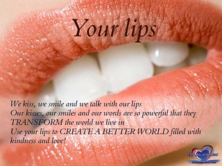 Inspirational Quote: Your lips