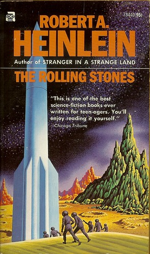 Robert A. Heinlein - The Rolling Stones - cover artist Steele Savage