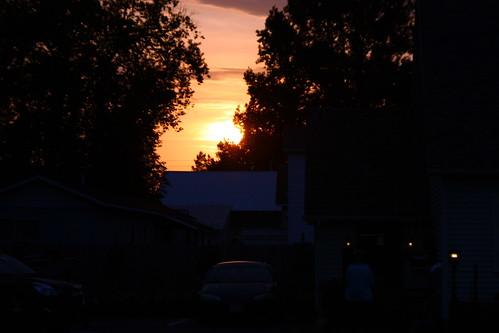 sunset usa vermont motel pôrdosol eua pds swanton