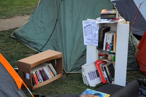 The Book club at Occupy Finsbury Square