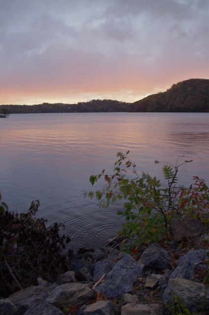 Daybreak at Claytor Lake State Park