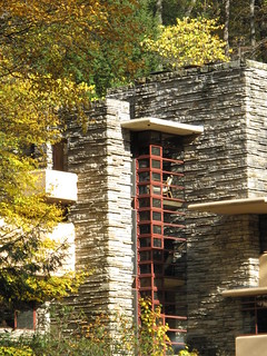 Fallingwater PA - zoom up to the house