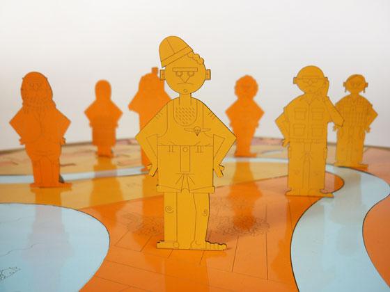עדי ורבין ושי לניר, DVIVO Design, בתערוכה