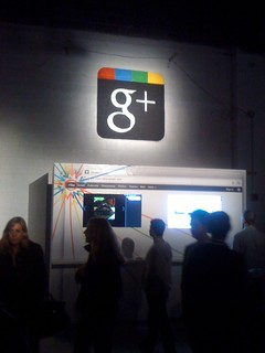 Google+ (Plus) Booth at Creative Sandbox