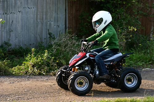 spencer quad bike