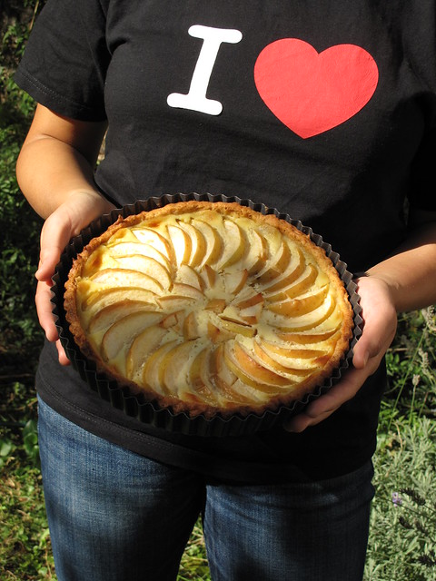 I [heart] apple Alsatian tart