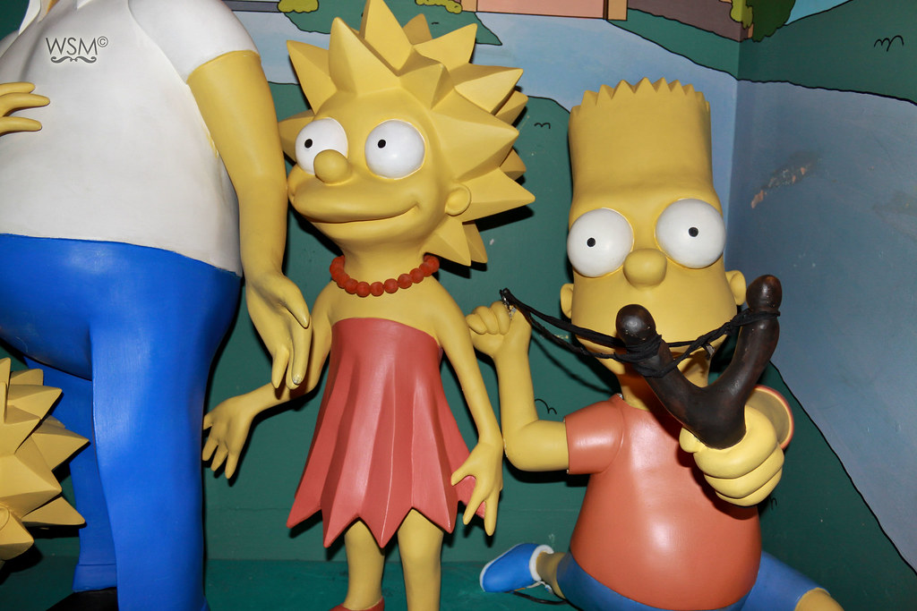 The Simpsons - Dublin Wax Museum, IE