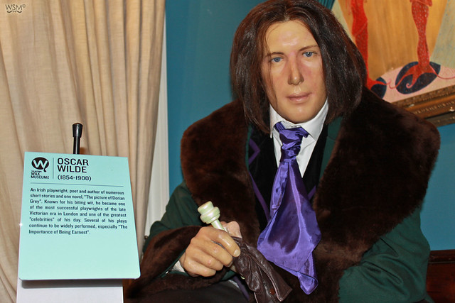 Oscar Wilde - Dublin Wax Museum, IE