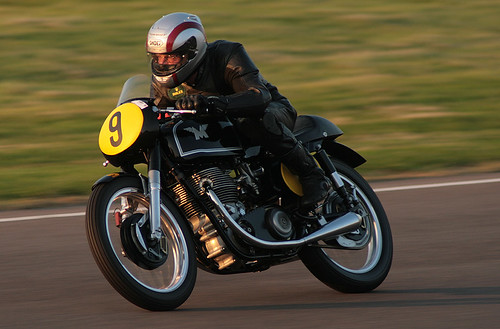 Matchless racer - Goodwood Revival