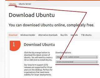 Ubuntu 11.10 Desktop - 32 bit ajánlott