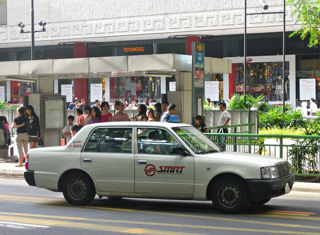 SMRT TAXIs Toyota Crown Taxi | Flickr - Photo Sharing!
