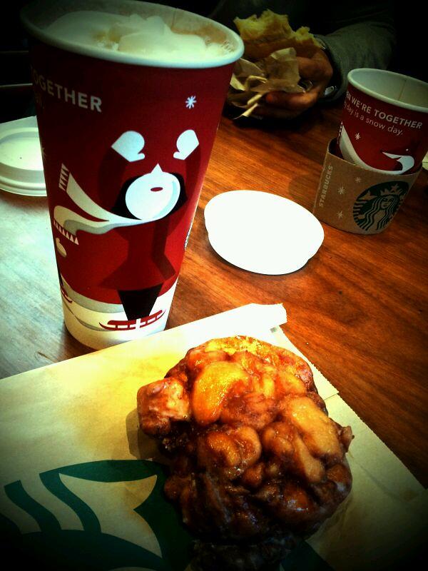 Apple Fritter Starbucks Spotted On Foodspotting Flickr