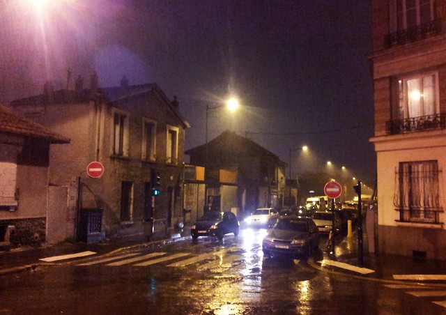 Rainy Street at Night | Flickr - Photo Sharing!