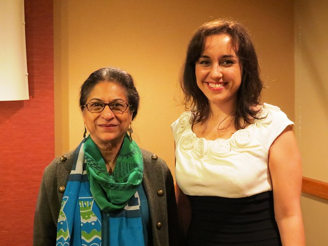 Leo Nevas Human Rights Event With Asma Jahangir