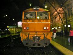 Train at Bangkok Railway Station, 2007