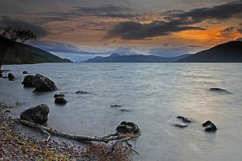 Loch Ness Dusk.