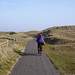 Bicycle paths through the dunes of Texel