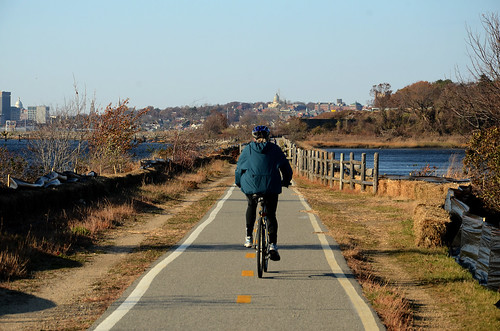 East Bay Bike Path - East Providence, Rhode Island by misterfoto