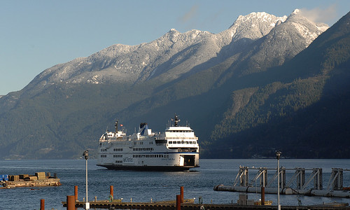 Horseshoe Bay is the B.C.Ferry Terminal to go to Nanaimo,B.C.,on Vancouver Island