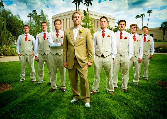Jerry Ferguson - Groomsmen Group Photo