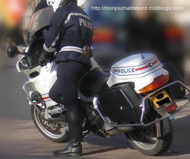Motard Police Nationale