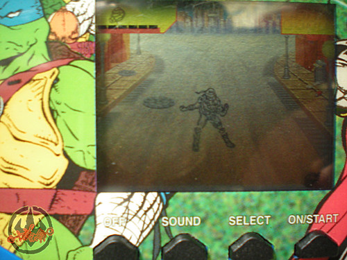 "TIGER ELECTRONICS :: ""NINJA TURTLES: THE NEXT MUTATION"" ELECTRONIC LCD GAME iii (( 1998 ))"