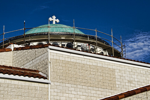 St. George Greek Orthodox Church construction