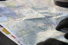 Half way looking at the road map