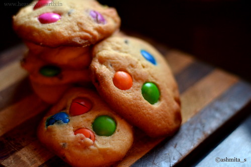 Monster Cookies M&M Cookies