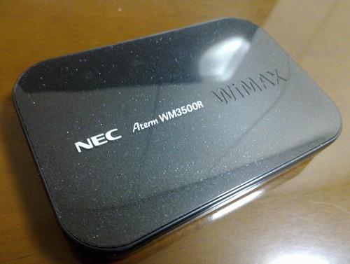 NEC Aterm WR3500R