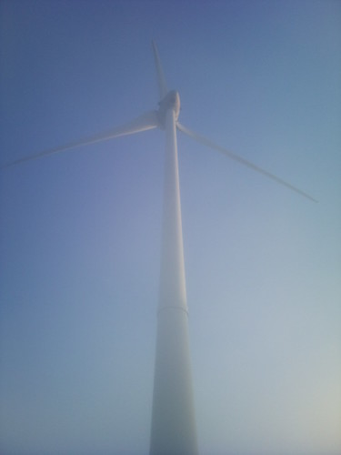 Windmill in the mist by XPeria2Day