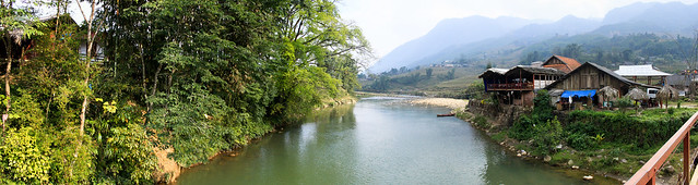 Ta Van Village bridge