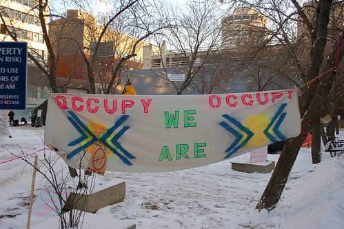 Occupy Edmonton - Nov. 20 2011 by raise my voice