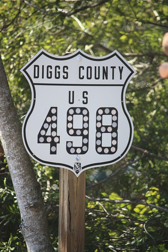 US 498 is located in Diggs County