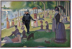 Sunday in the Park,  Pepper-Sprayed