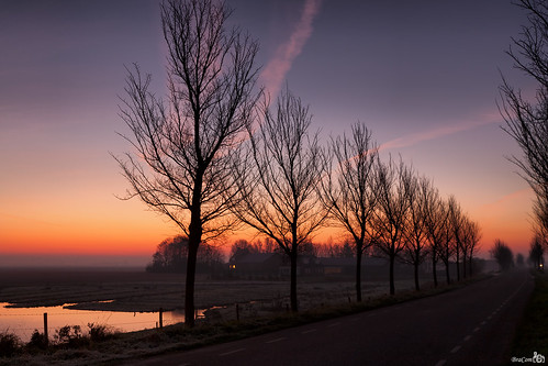 "Sunrise ""Brede Gooi"" by BraCom (Bram)"