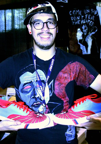 Vendor Neil Molloy Art & Custom Apparel at Hal-Con 2011