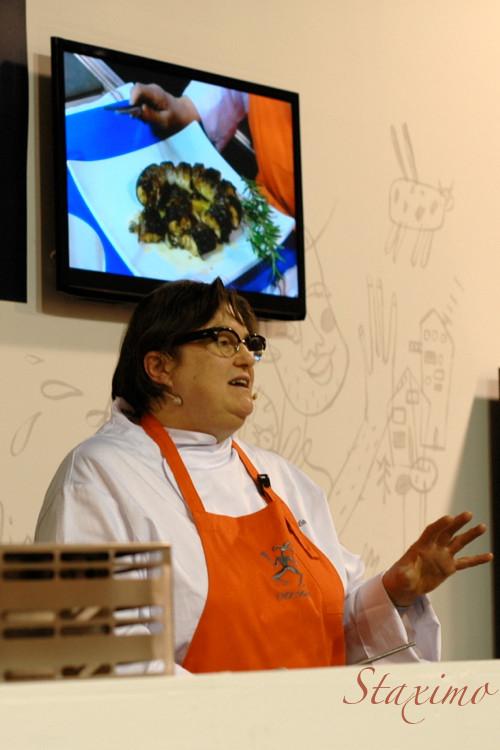 Maria Grazia Soncini e l'anguilla