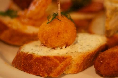 Saffron rice ball