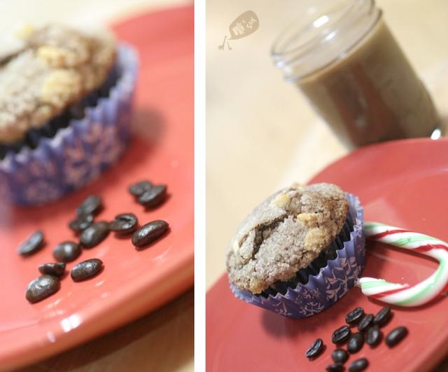 Peppermint Mocha Muffins