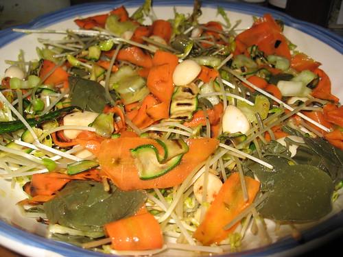 Insalata di verdure grigliate con aglio dolce di Stefania Cuozzo