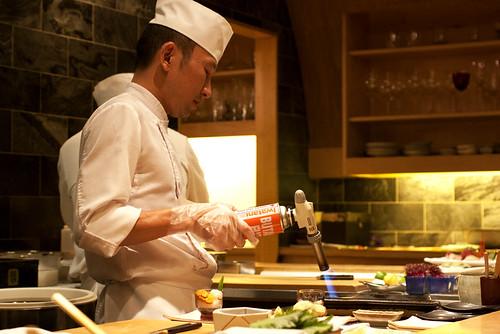 chef yoshihiko kousaka @ jewel bako